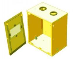 Ящик для счетчика газа (200 мм) разборный