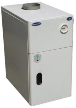 Газовый напольный котел Мимакс КСГ-10 с термогидравлической автоматикой (одноконтурный)