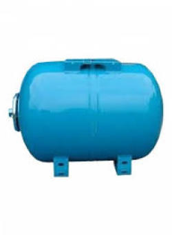 "Гидроаккумулятор ULTRA-PRO 50л Гориз., 10 Бар, 1""G, (-10 +99 С), Синий"