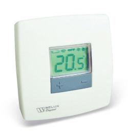 Термостат комнатный Belux digital (5-35C,8A,250В)