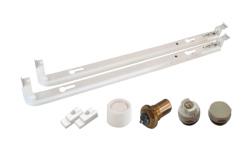 Монтажный комплект для нижнего подключения радиаторов Viessmann высота 500