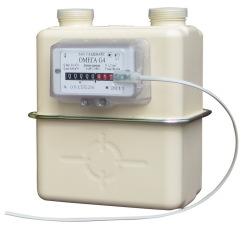 Счетчики газа NPM с термокорректором