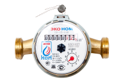 Счетчик воды универсальный ЭКО НОМ-15-110+КМЧ-15-ОК
